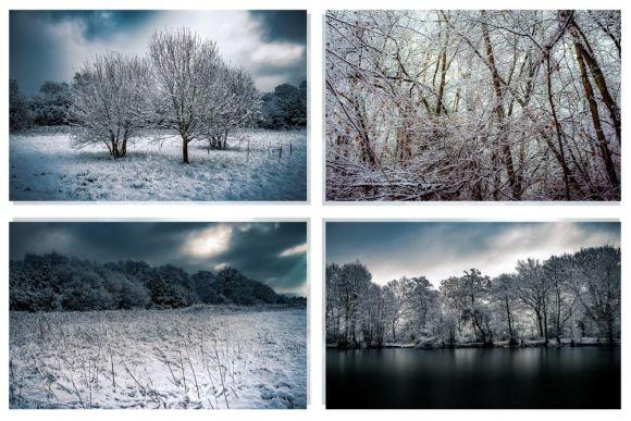 Fine Art Winter Photography Set