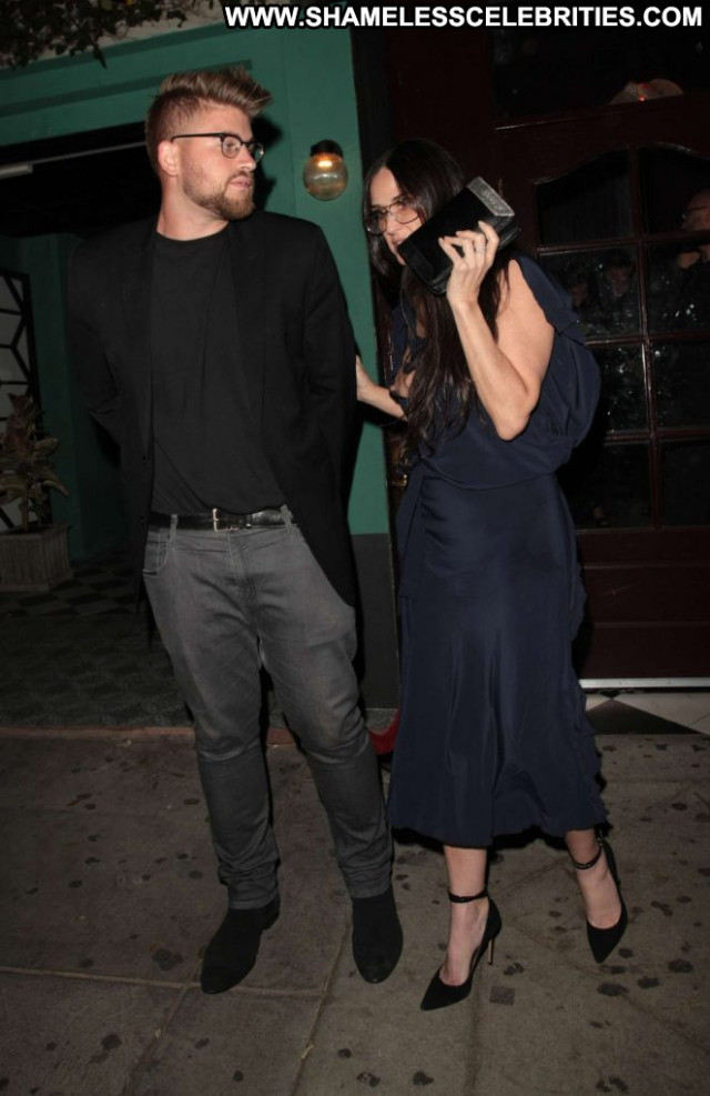 Demi Moore West Hollywood West Hollywood Paparazzi Babe Club