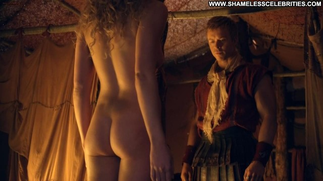 T Ann Manora Spartacus S3e9 Full Frontal Bush See Through