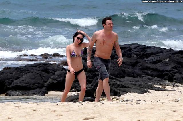 Megan Fox The Beach Beach Beautiful Posing Hot High Resolution