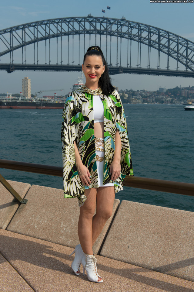 Katy Perry Australia Celebrity Beautiful Babe Posing Hot High