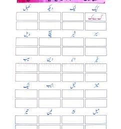 Urdu Grammar Worksheet In Urdu   Printable Worksheets and Activities for  Teachers [ 3508 x 2480 Pixel ]