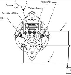 wiring my new alternator shamrock boat owners club on yanmar wiring diagram marine  [ 1181 x 809 Pixel ]