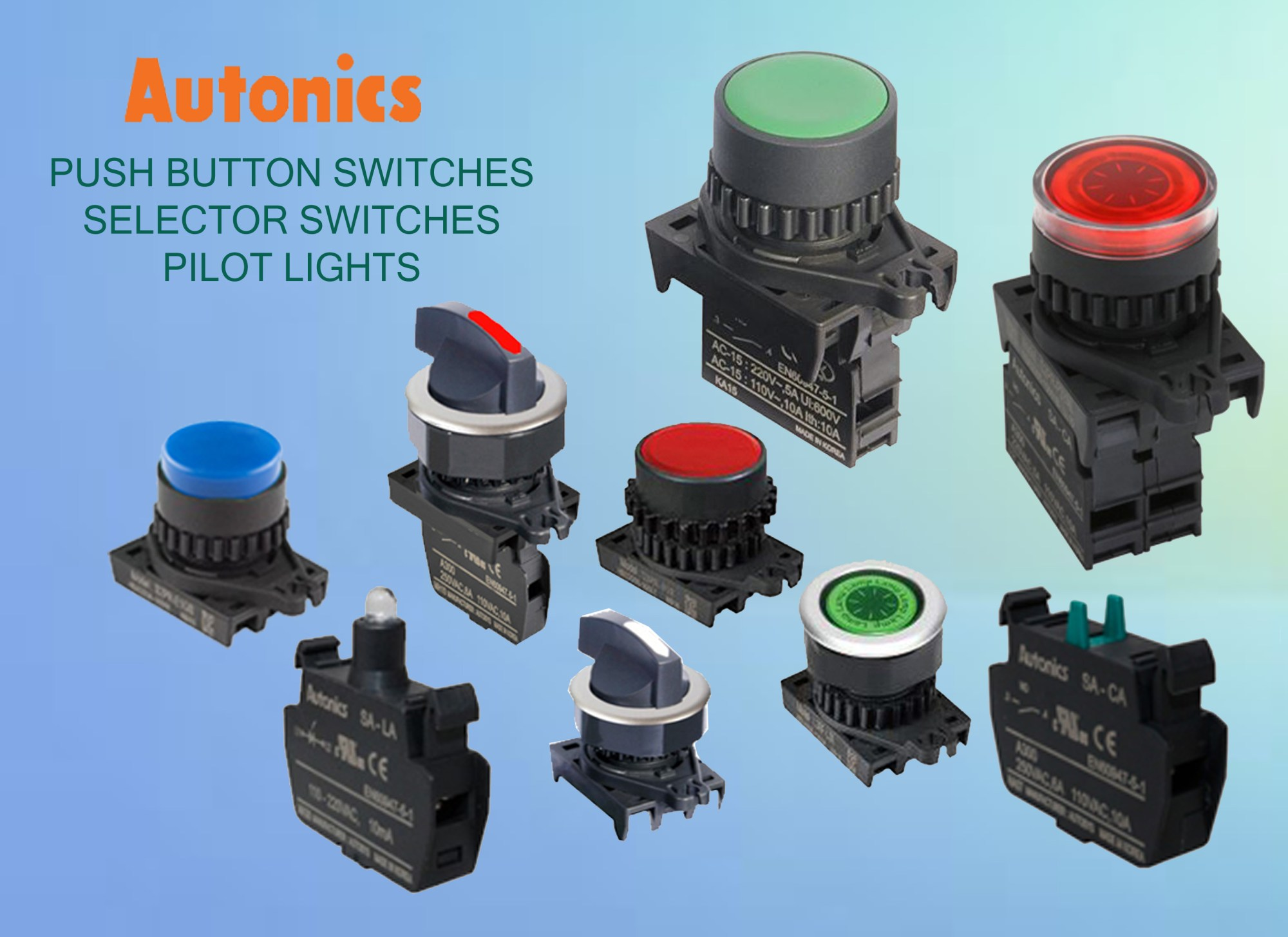 hight resolution of push button switch distributor