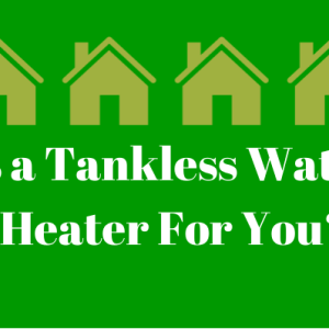 tankless water heater installation utah