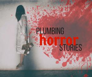 creepy little girl stuffed bear plumbing horror stories