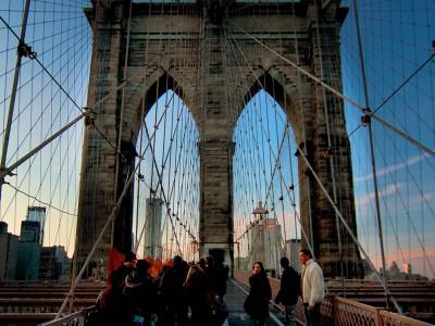 Brooklyn Bridge / New York city