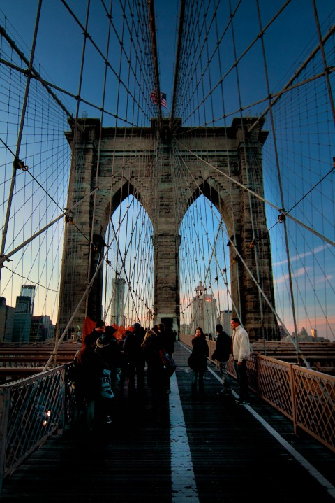 Brooklyn Bridge / New York city
