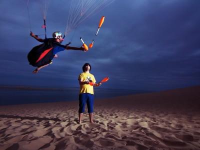 Paragliding Circus #1