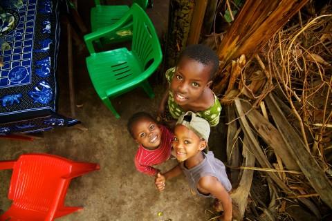 Kids in Tanzania