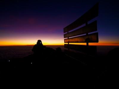 Sunrise at Gilmans Point / Kilimanjaro