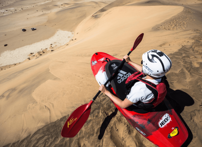 Red Bull – Riding the Namibian desert