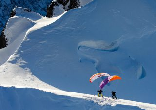 Red Bull Speeriding all over the alps