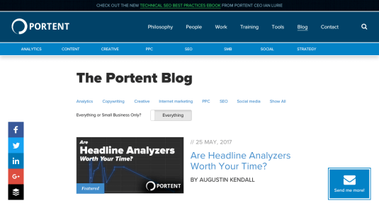 the portent seo blog
