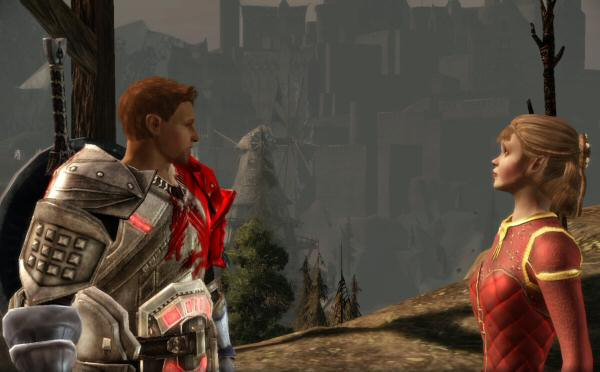 I'm letting you wear my Blood Dragon armor. That's pretty much the same