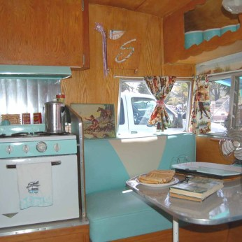 Shasta Airflyte Original Interior