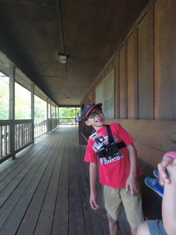 Camerman at the Visitor Center