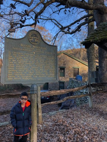 Blood Mountain at Kneels Gap
