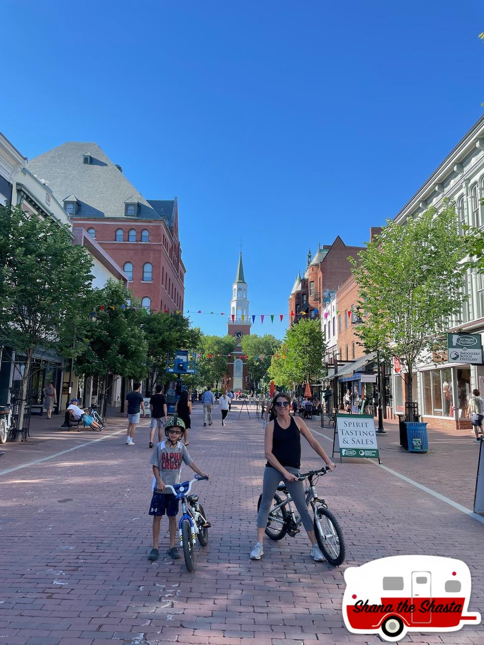 Bikers-on-Church-Street-Vermont