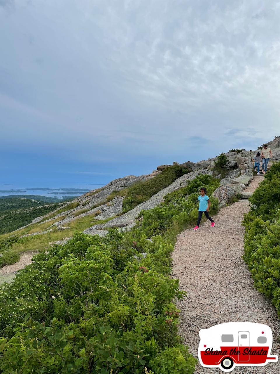 Hiking-Cadillac-Mountain