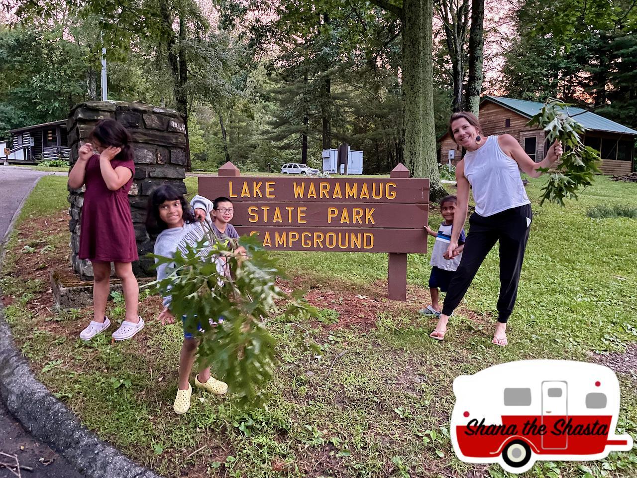 Lake-Waramaug-State-Park-Sign