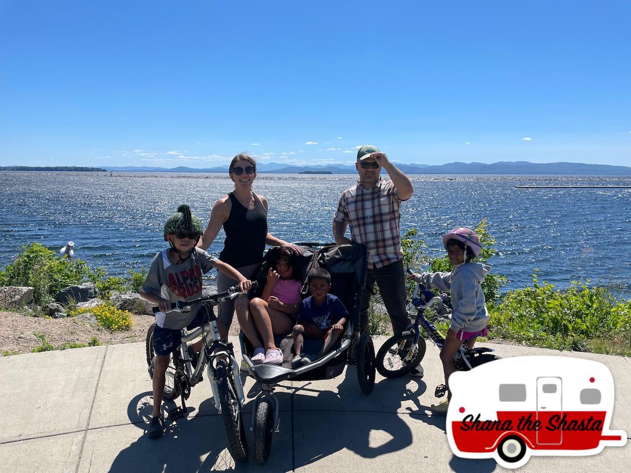 Lakeside-Biking-on-Lake-Champlain