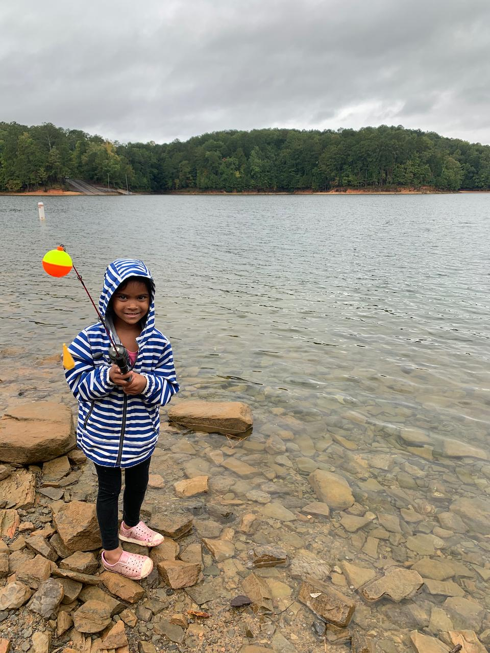 Shore-Fishing-Carters-Lake