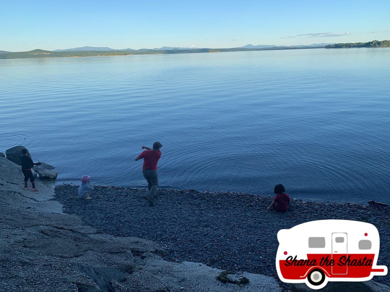 Skipping-Slate-Lake-Champlain