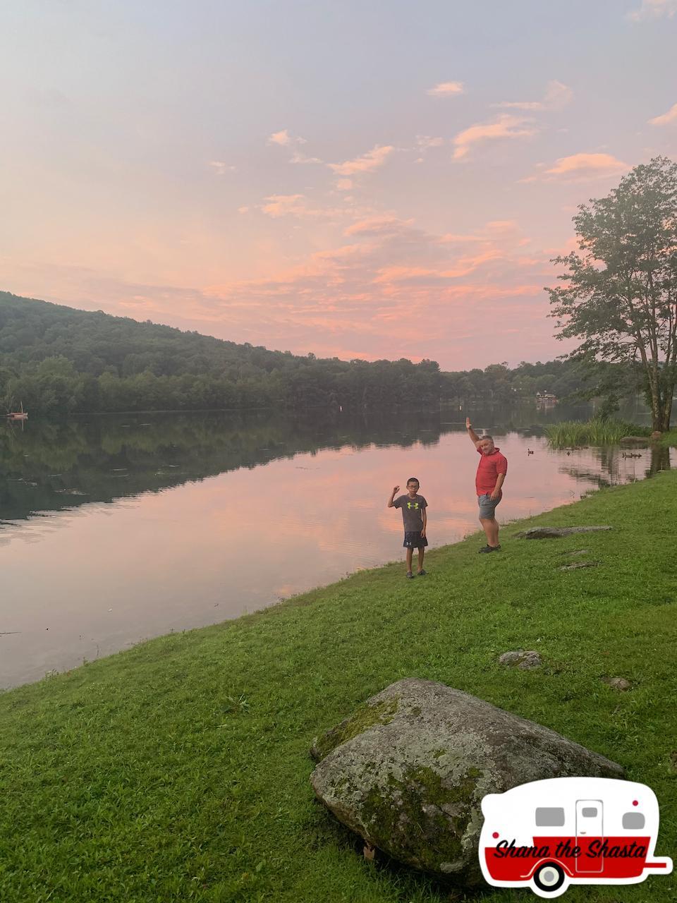 Sunset-Reflection-at-Lake-Waramaug