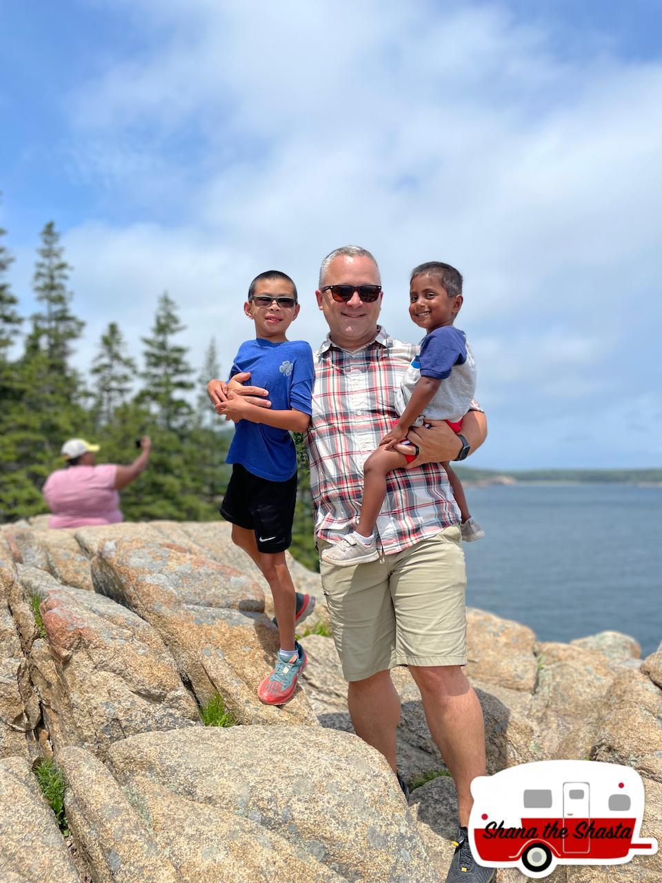 The-Boys-on-Acadia-Cliff