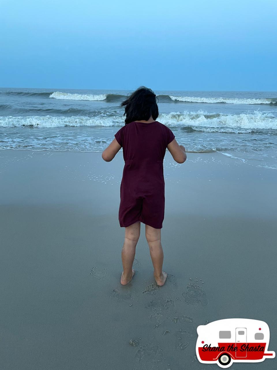 Waves-on-Sand-Beach-at-Assateague