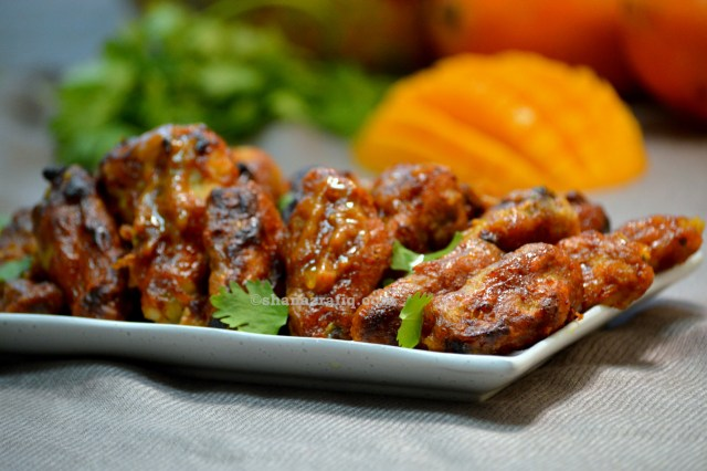 Grilled Mango Chicken with Video