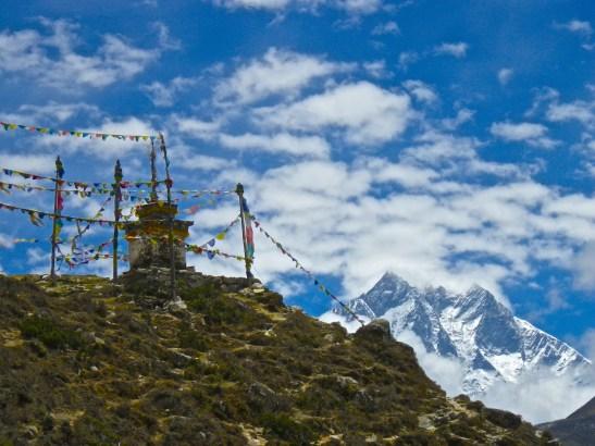 Stupa & Lhotse