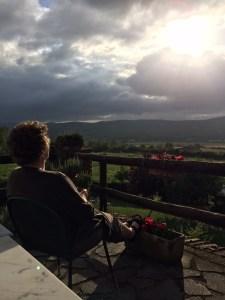 Nancy at Via Selva farm