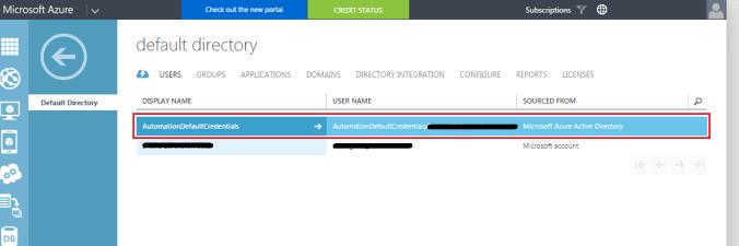 Azure Portal Screenshot