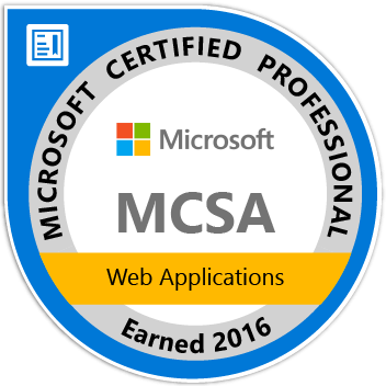 MCSA Badge