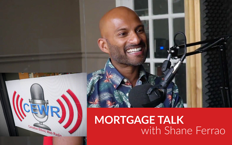 Mortgage Talk with Shane Ferrao on Talk Time at Radio CEWR