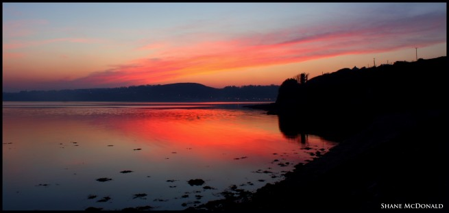Arthurstown, Wexford to Passage East, Waterford - at Sunset