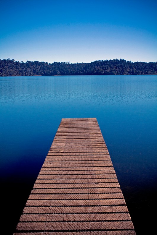 New Zealand Boardwalk - Blue Theme - Photo 1