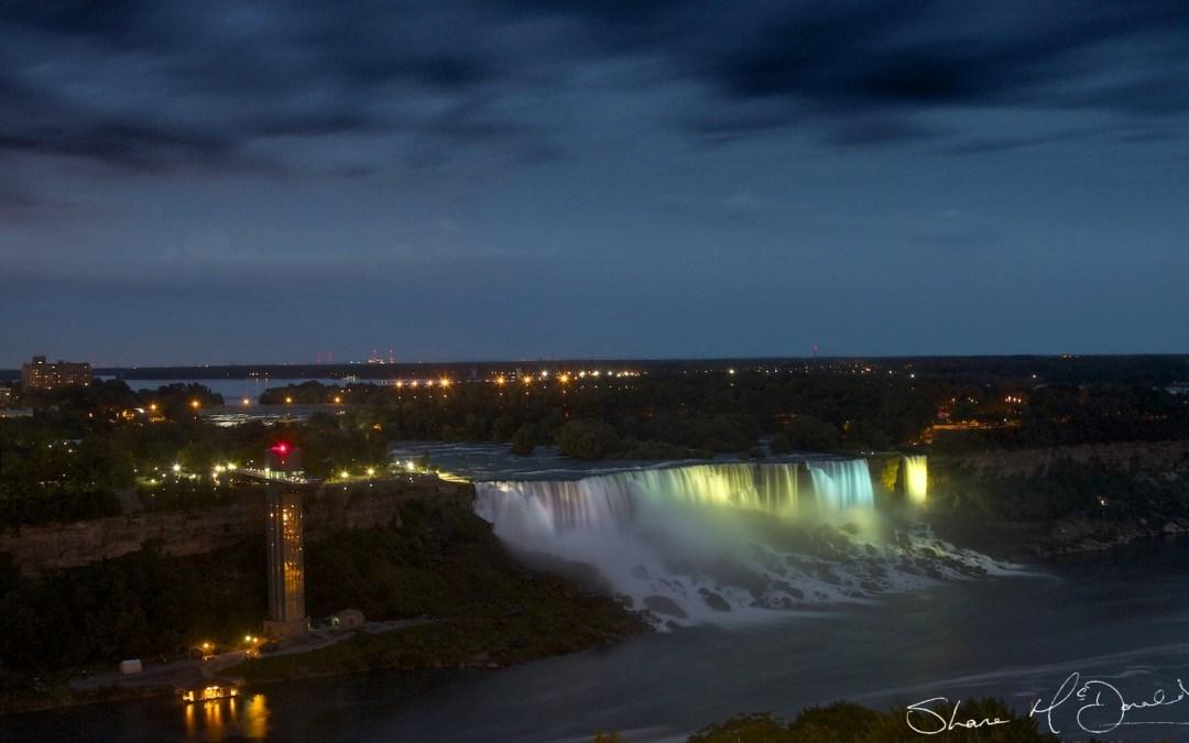 Niagara Falls at Night – 30/Project52