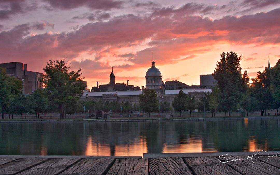 Marché Bonsecours Montreal Sunset – 33/Project52