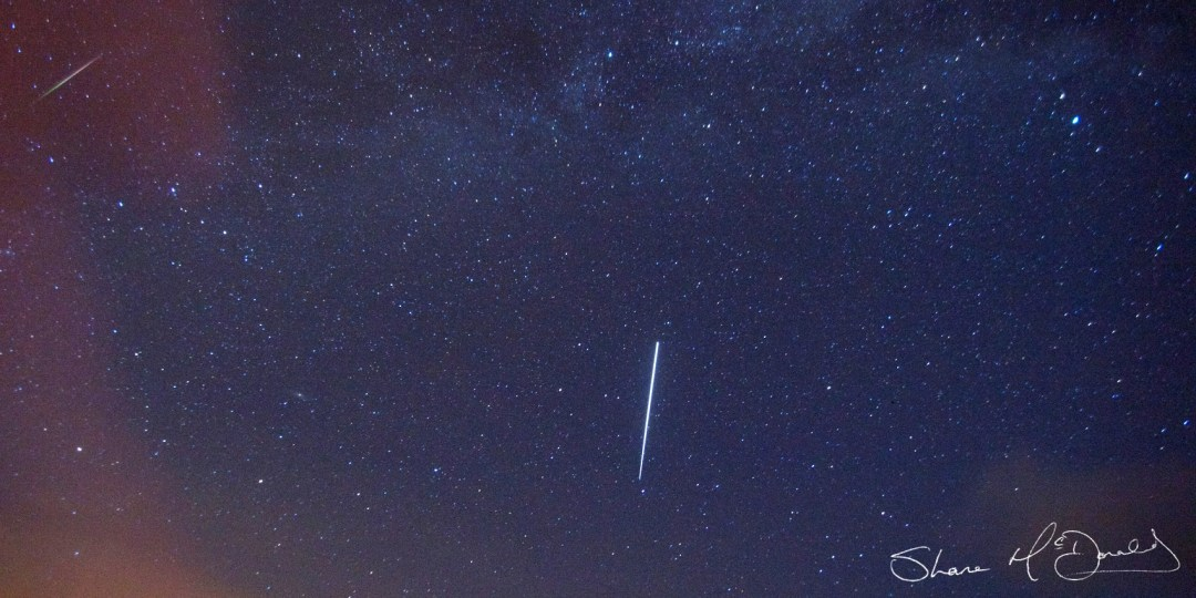 Photographing the Perseids meteor shower – My First Attempt