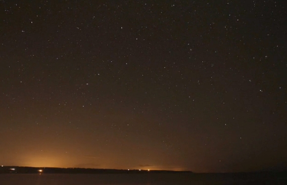 First Astrophotography Timelapse