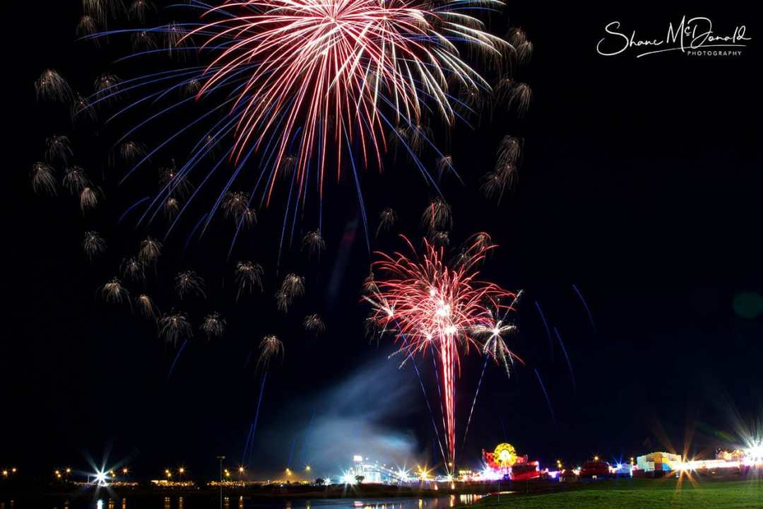 Taking Great Fireworks Photos - Tall Ships Fireworks