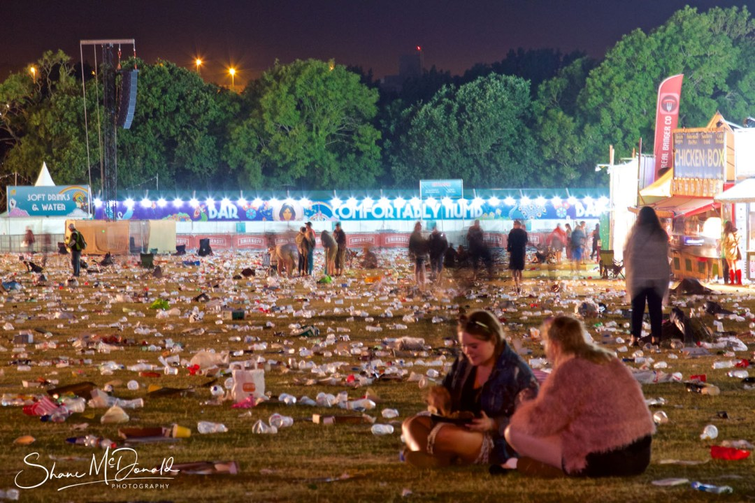 The Terrible Rubbish problem at the Isle of Wight Festival