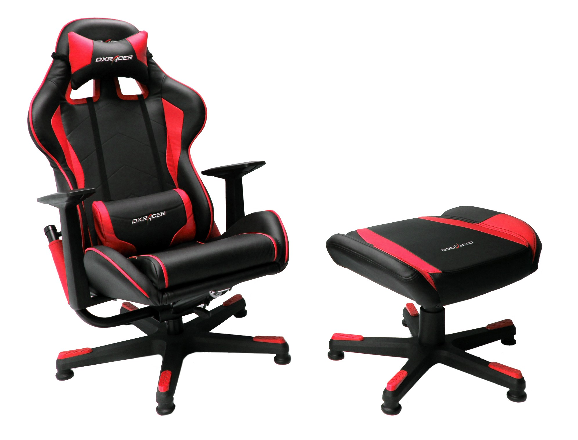 red gaming chair lazy boy cover feel the part of a real race car driver  dxracer gets nz