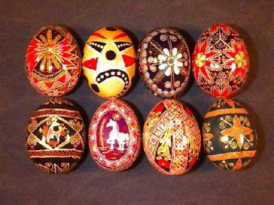 ShangralaFamilyFuncom  Shangralas Pysanky Easter Eggs