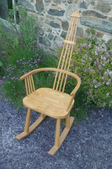 Welsh stick chair with a contemporary twist.