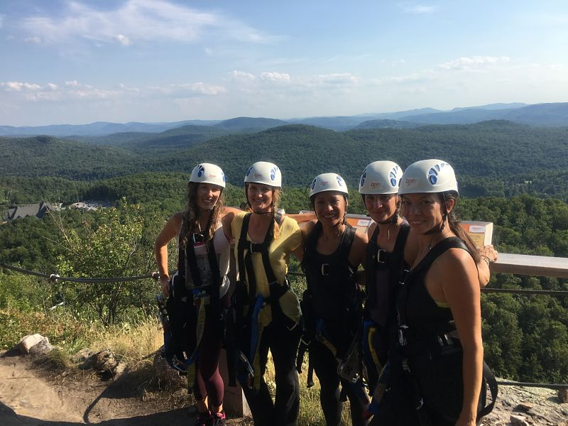 What does Zip Lining have to do with Community?