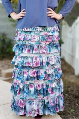 Floral Eleganza Skirt